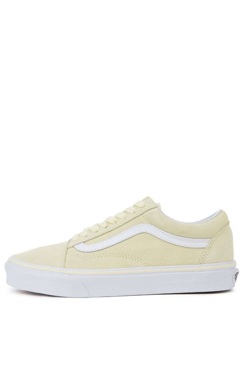 The Women s Old Skool Suede in Tender Yellow and True White ... 705432254