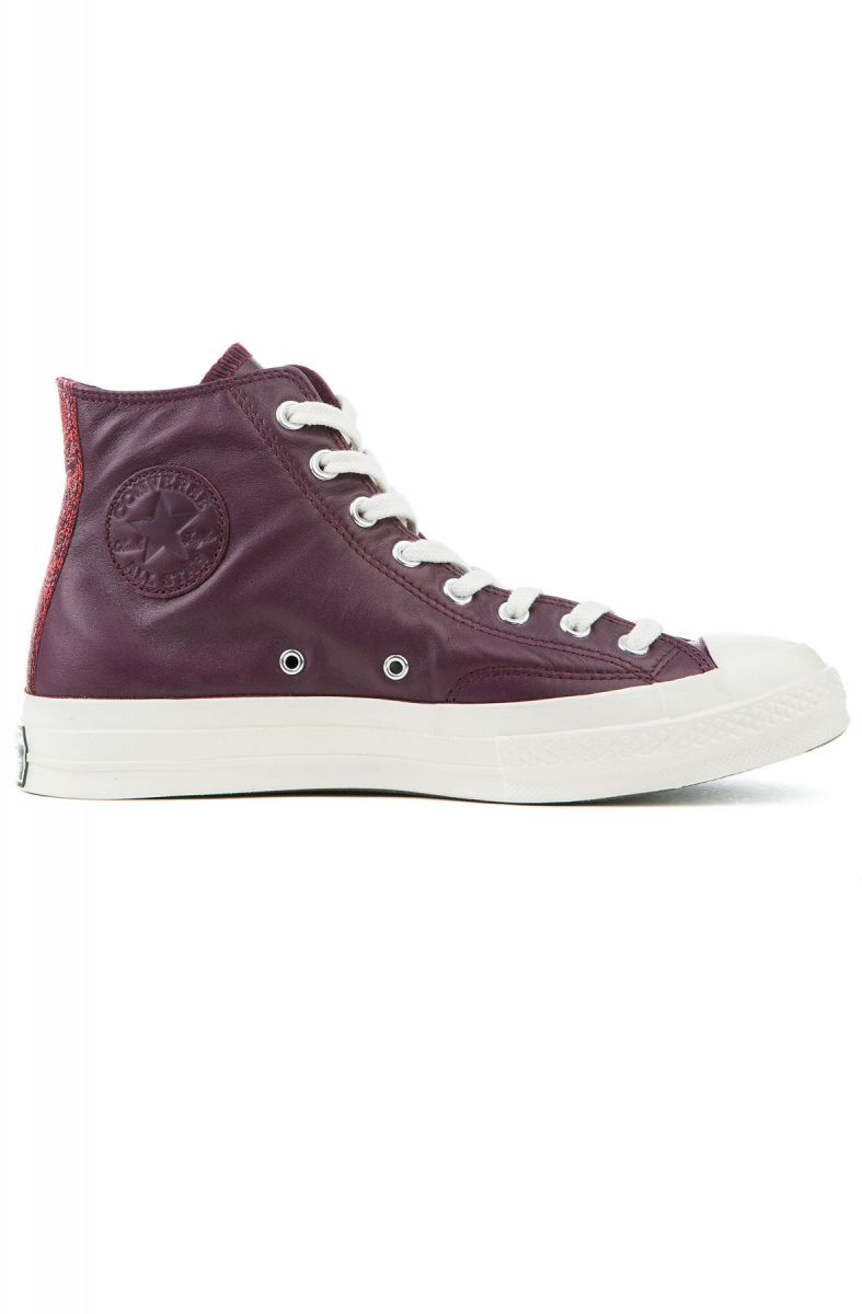 6709a65cae6 Converse Sneakers Chuck Taylor All Star 70 - Hi Dark Sangria ...