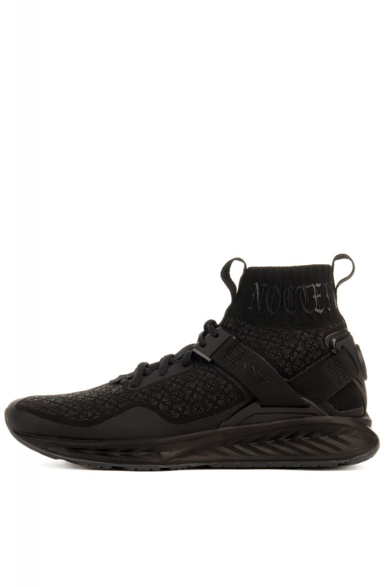 6a5cd58c7ec The Puma x En Noir IGNITE evoKNIT in Puma Black ...