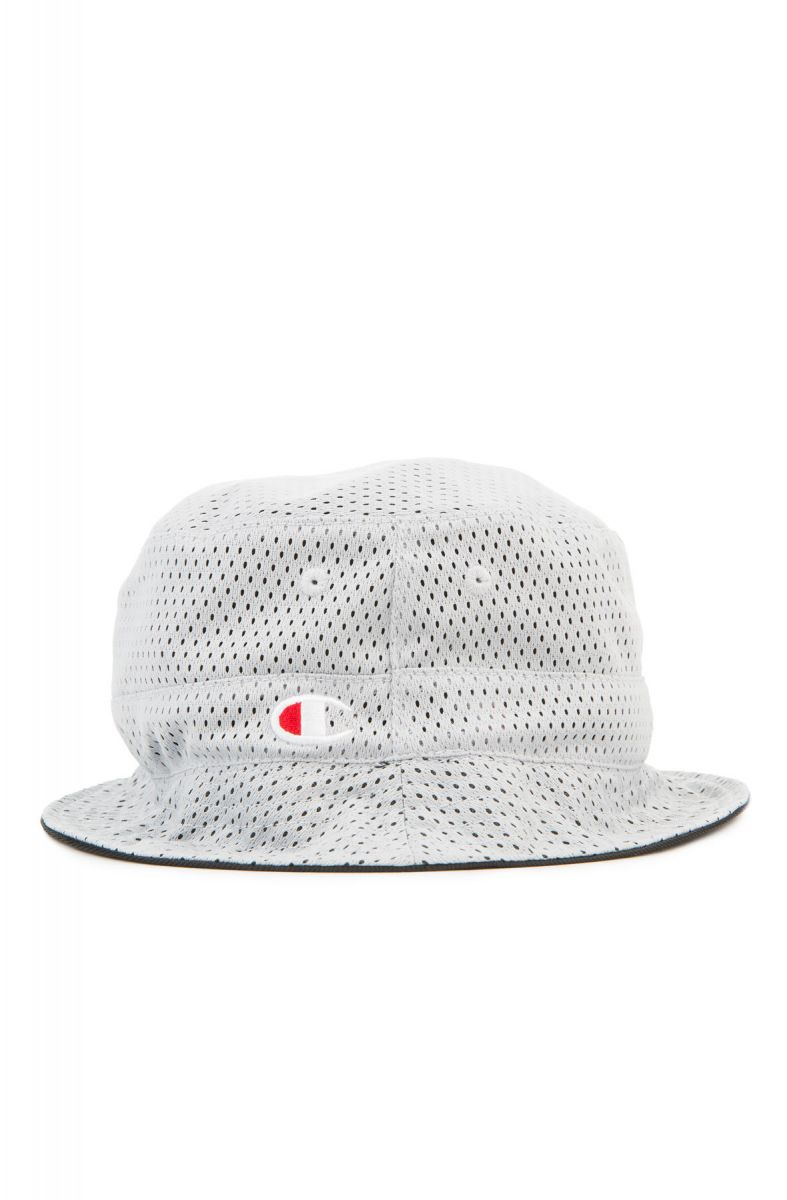 1aabeb6aa3f Champion Hat Reversible Mesh Bucket Grey
