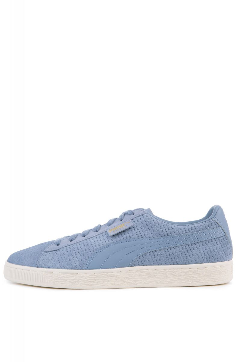 2091c1ef1dbbbc Puma Sneakers Suede Classic Perforation Infinity Whisper White