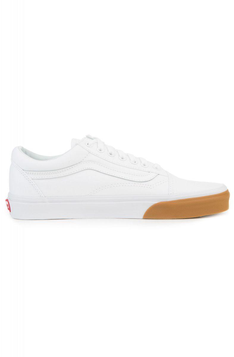 Vans Sneaker Men's Old Skool Gum Bumper True White