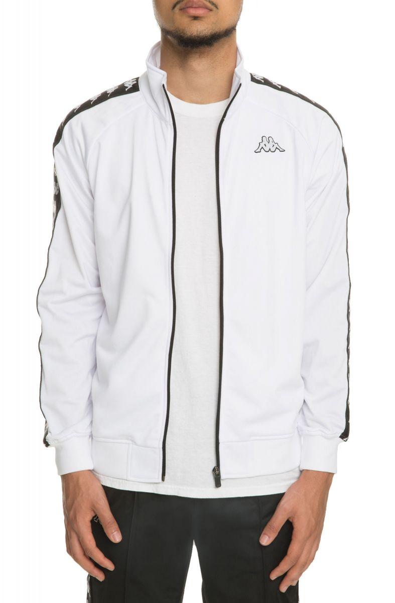 4499feb9518d Kappa Jacket Banda Anniston Slim White Black