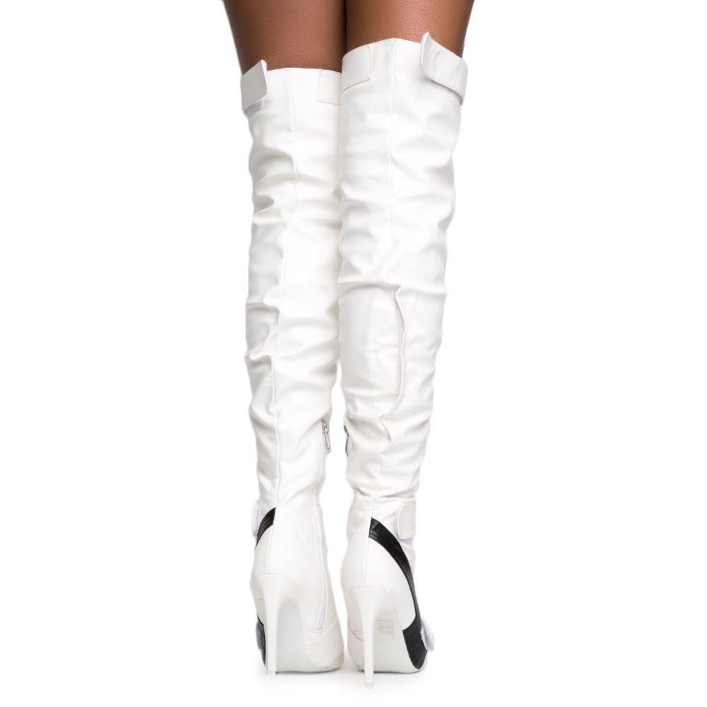 Cape Robbin Gigi-6 Women's White Heeled