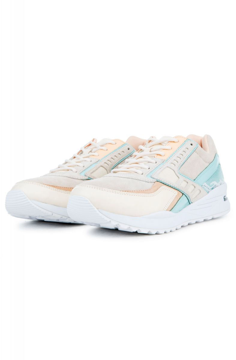 newest 877fb be81d ... The Pink Dolphin x Brooks Tsunami Regent in Cream and Turquoise ...