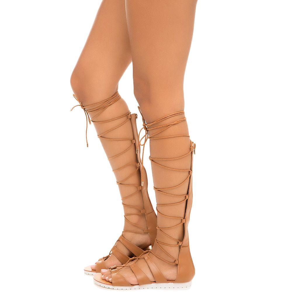 f7df69ad5e77 Women s Sam-19 Lace-Up Gladiator Sandal