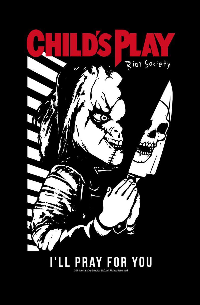 Riot Society I/'ll Pray For You Mens Hoodie
