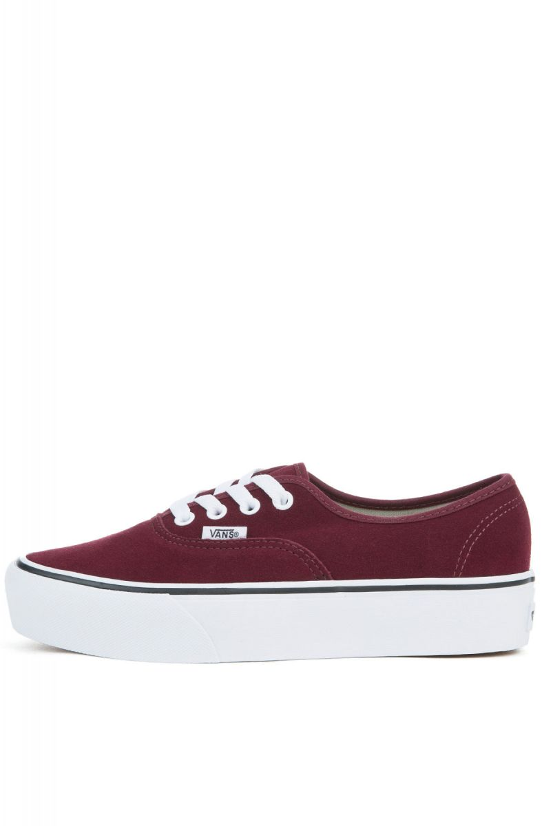 7ce06e6d4f1eaa Vans Sneaker Suede Authentic Platform 2.0 Port Royale and True White