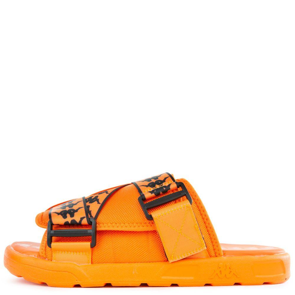 0237d329 222 Banda Mitel 1 Slides in Orange Flame/Black