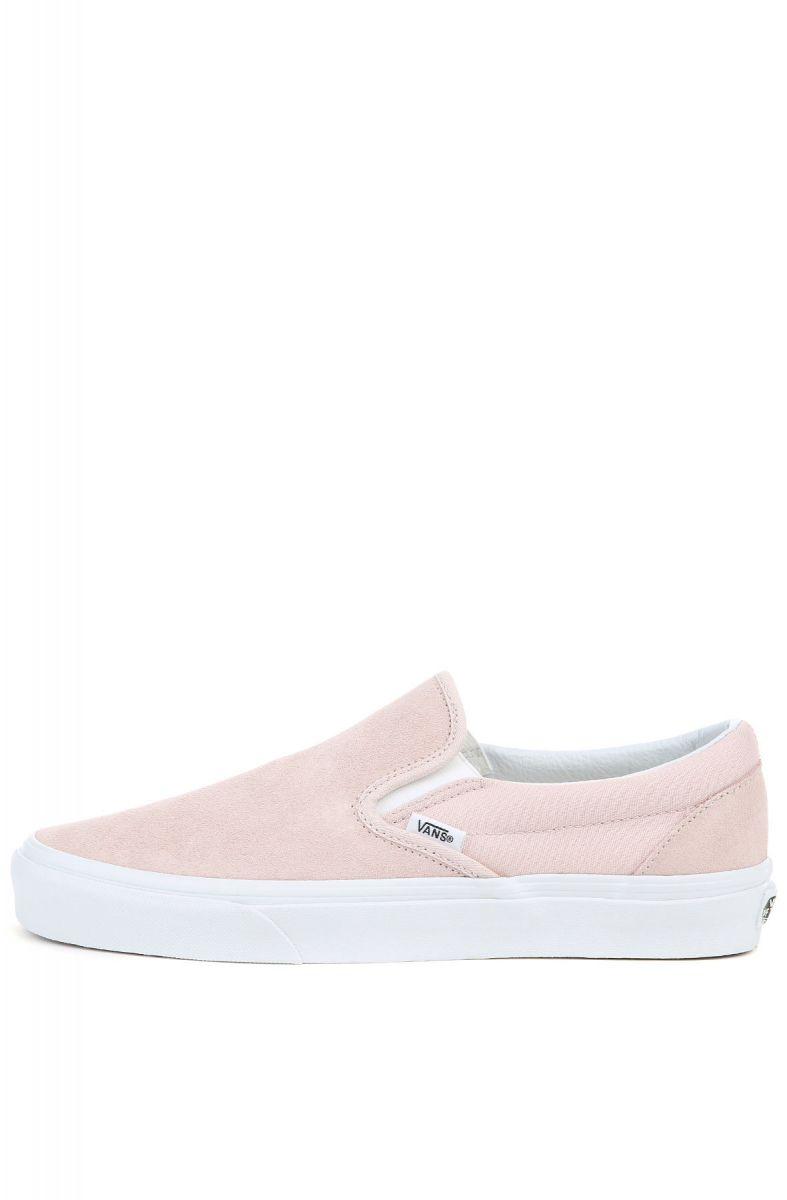 df85bc56d99c00 VANS Sneaker Unisex UA Classic Slip-On (Suede) Sepia Rose Pink