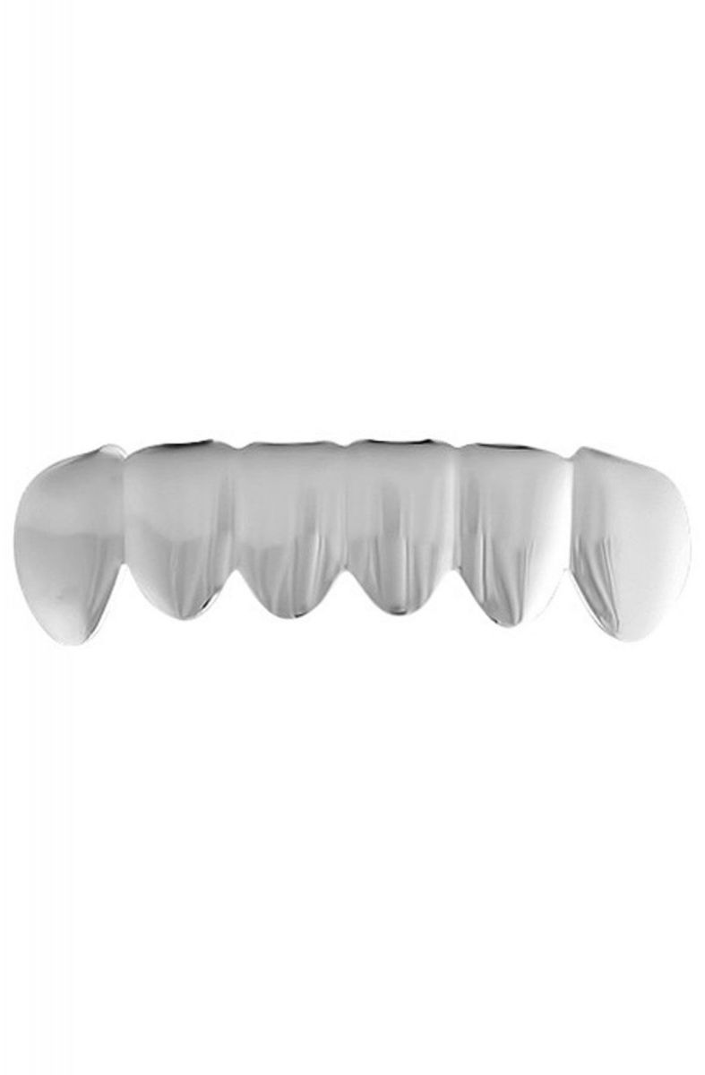 H.H.B Grillz The Real Sterling Silver Bottom Grillz Silver 1dbd35f90b8b