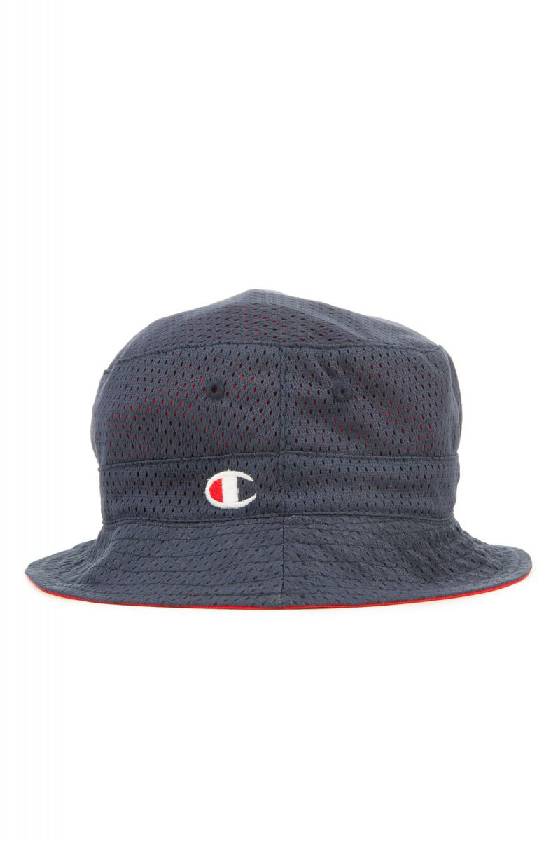 6057b85540b Champion Hat Reversible Mesh Bucket Imperial Indigo Scarlet Blue Red