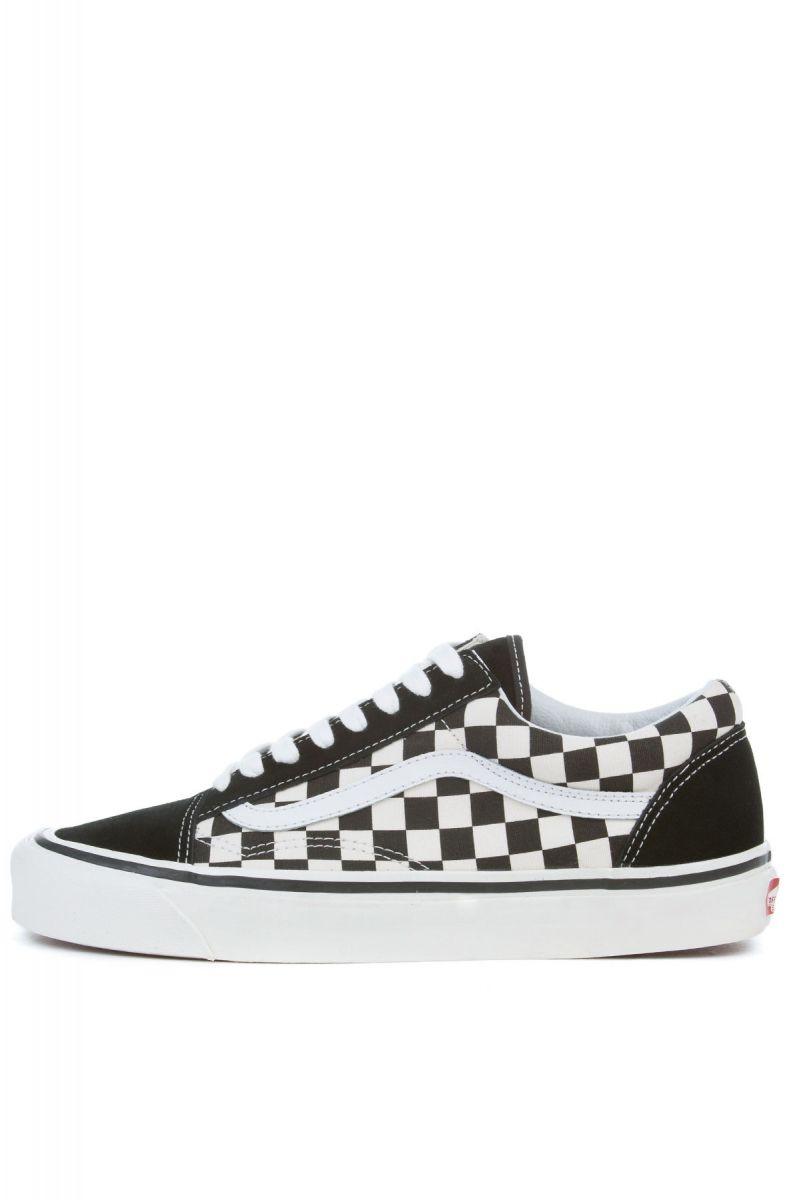 a0a092d8b553 VANS Sneaker UA Old Skool 36 DX in (Anaheim Factory) Black Checker White