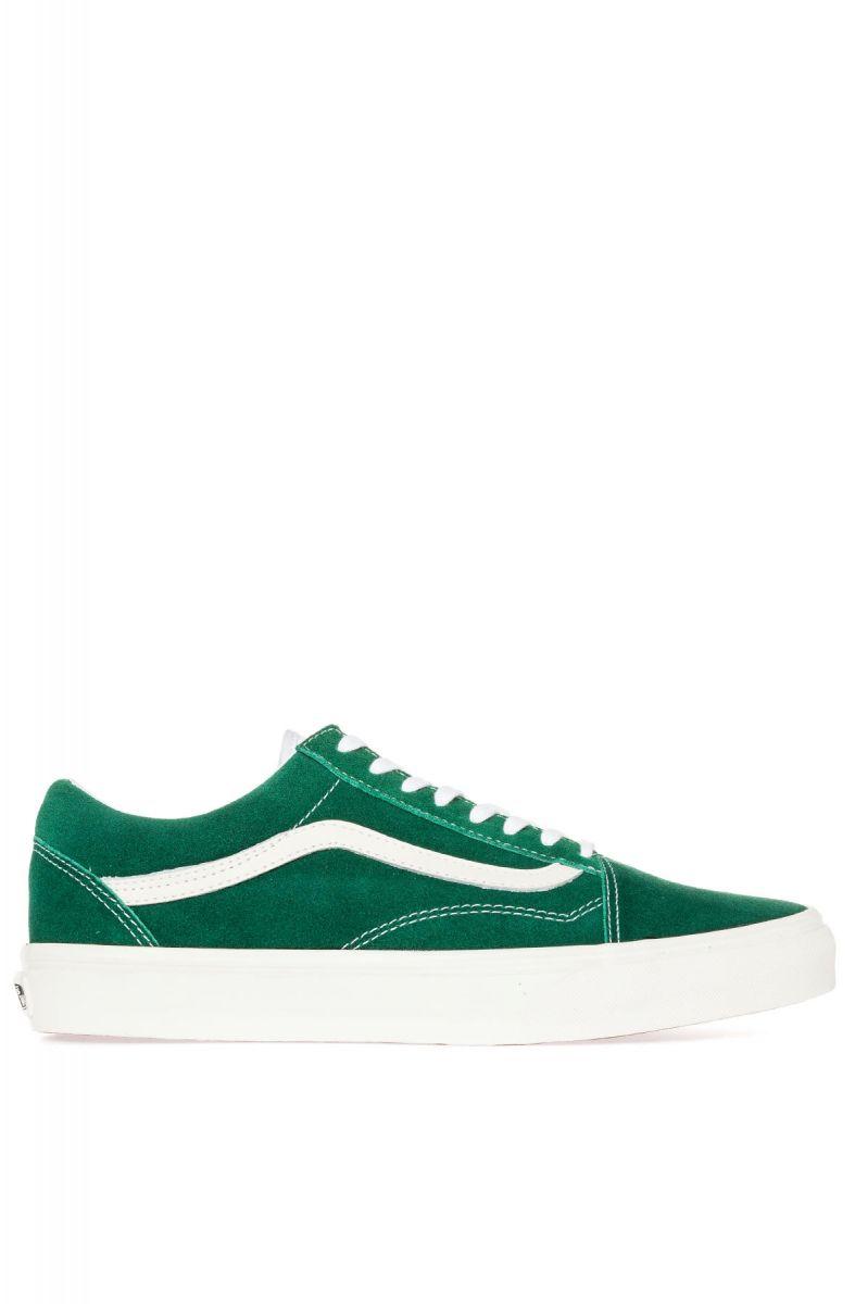 02e6314dcb429e Vans Footwear Sneaker The Old Skool in Vintage Evergreen Green