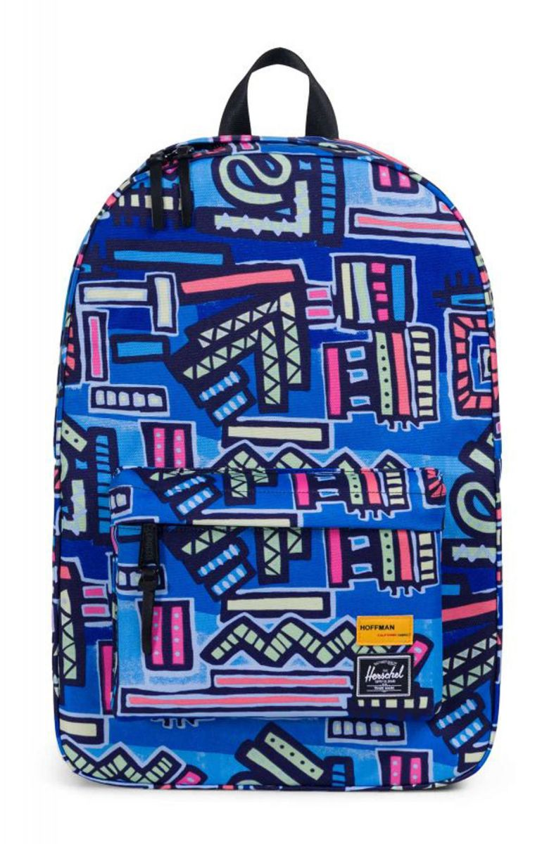 cdbbe7aca1 Herschel Backpack Philip Hoffman Winlaw Abstract Geo Blue