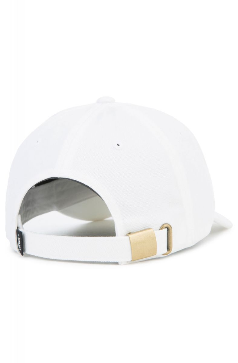 ed47bc01eb The Provost Curved Bill Jockey Dad Hat in White