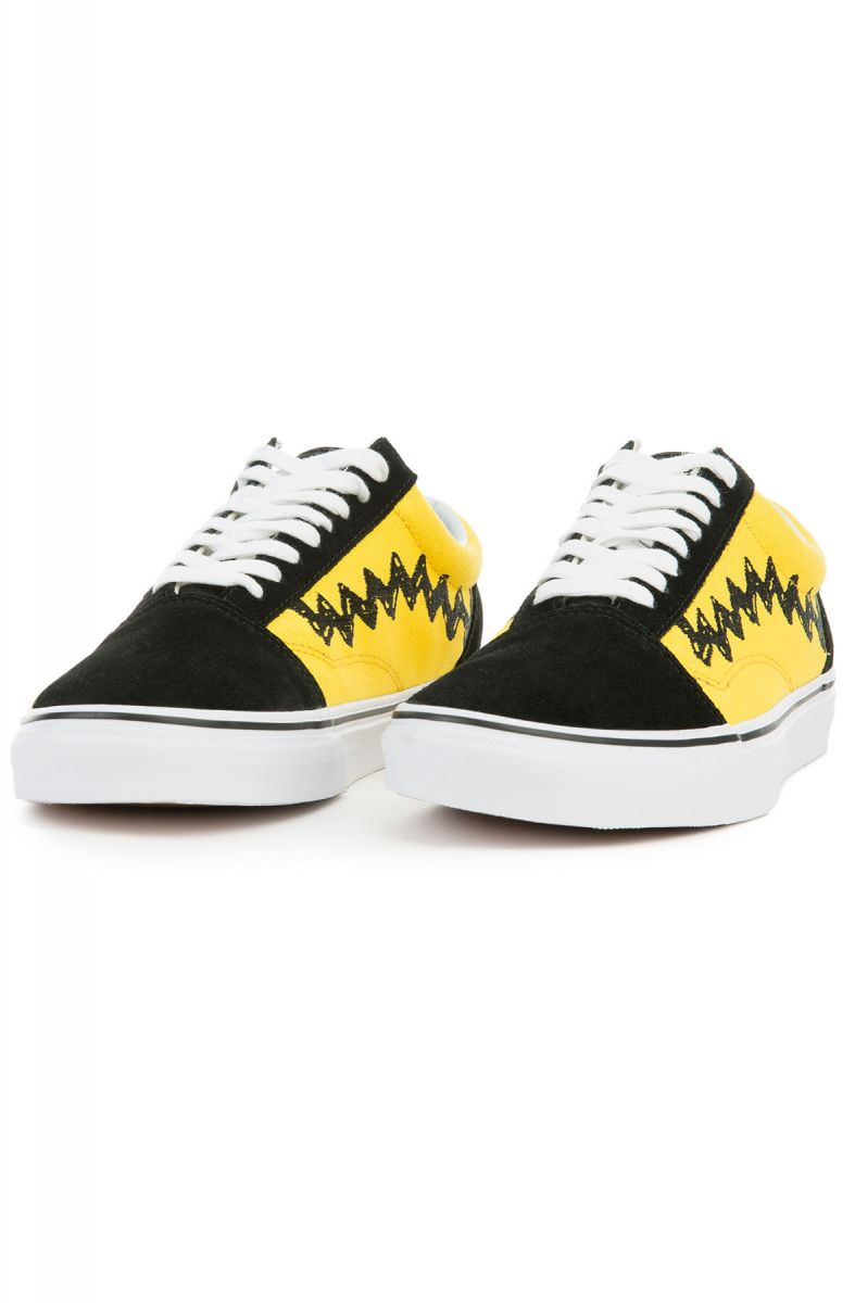125a7f19e88929 ... The Vans x Peanuts Old Skool in Charlie Brown Black ...