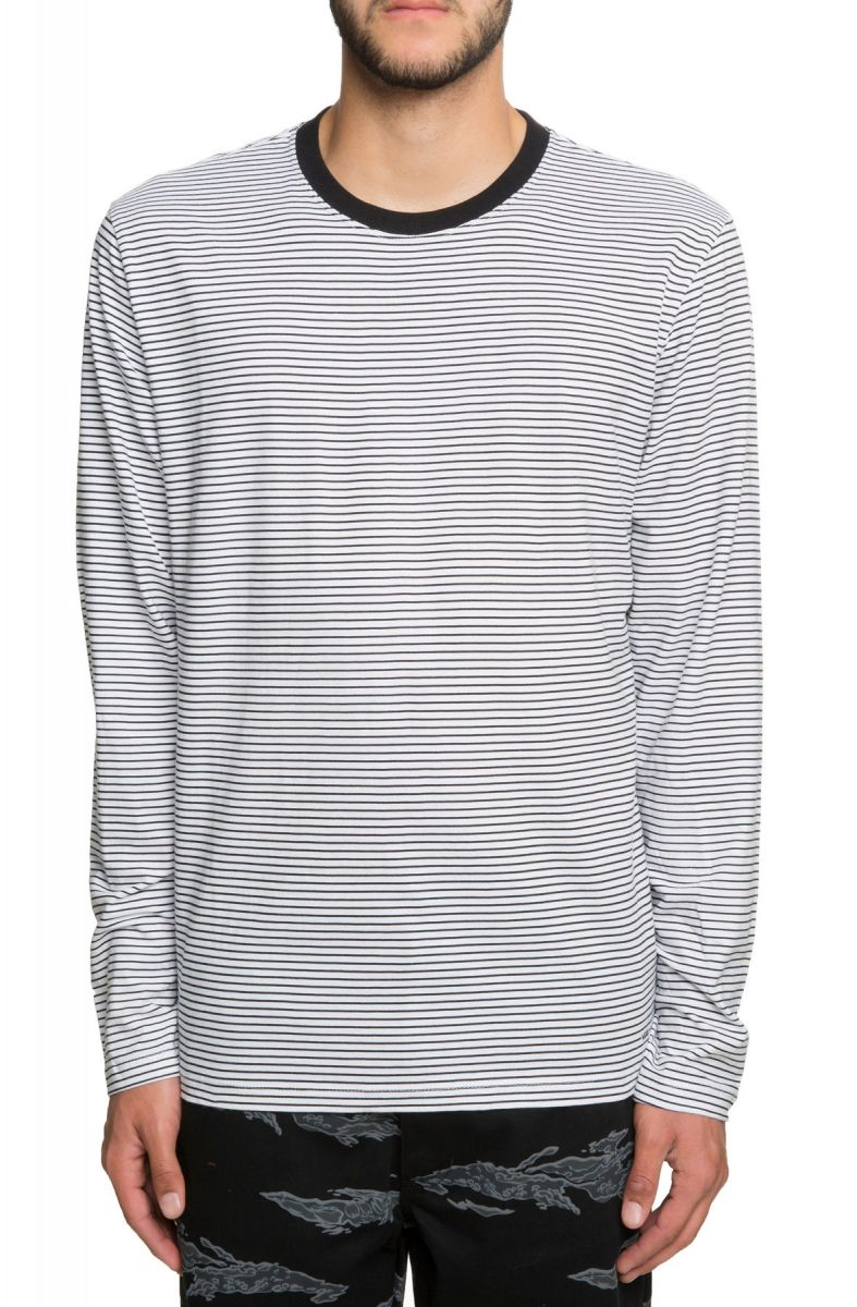 2731060b65 Engineered Vans Striped Long Sleeve in Black and White