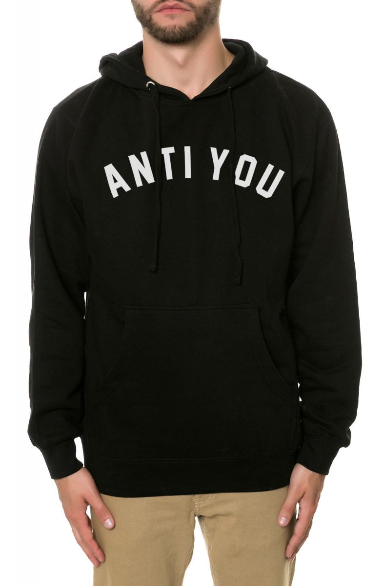 0f522e29e101 The Anti You Hoodie in Black