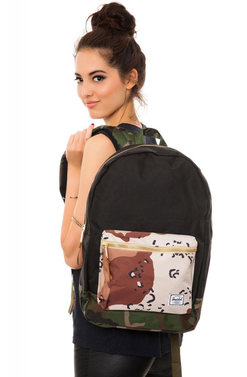 40dbfa73c2f Herschel Supply Backpack Settlement in Black