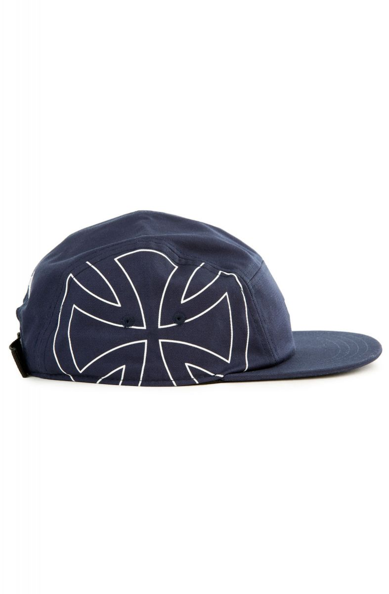 e71e64a9a2 The Vans x Independent 5-panel Camper Hat in Independent Dress Blues