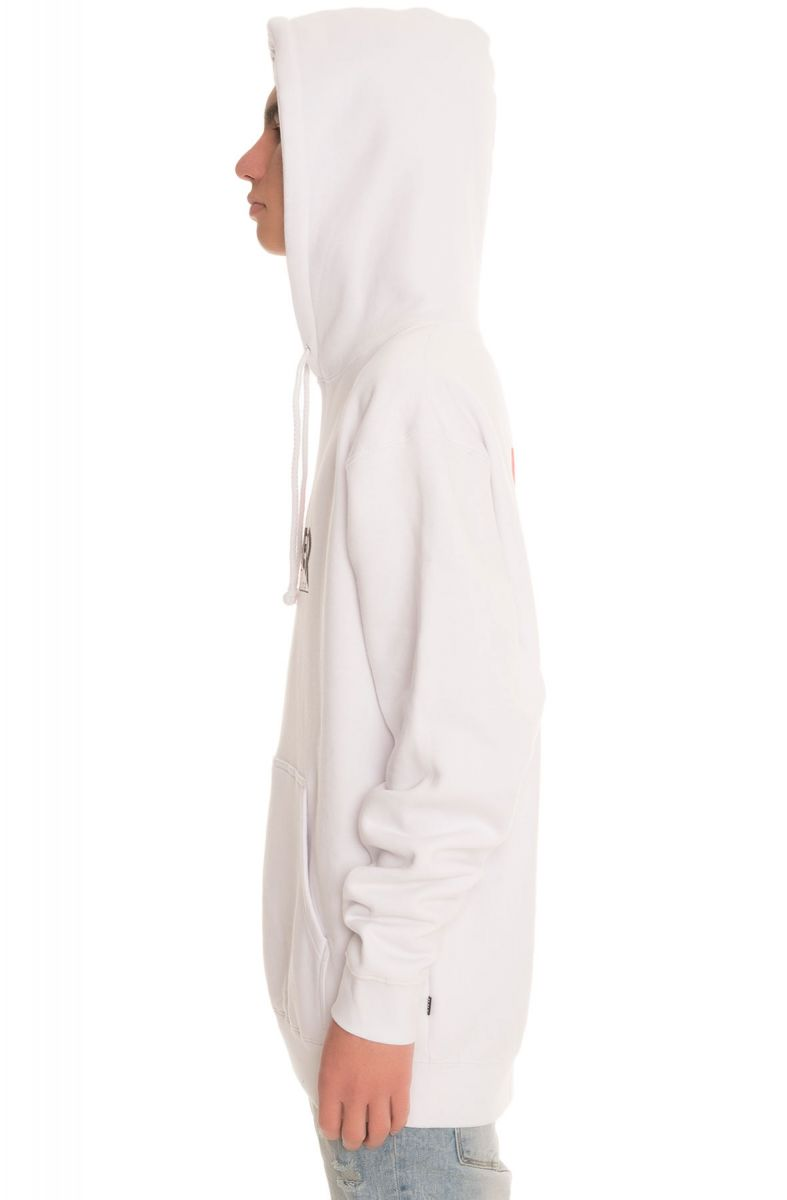 Huf Hoodie Thrasher Tour De Stoops Pullover White