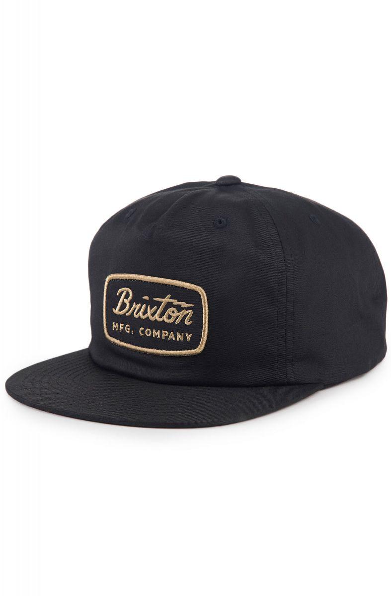 eb174cee9e6 Brixton Hat Jolt HP Snapback Black