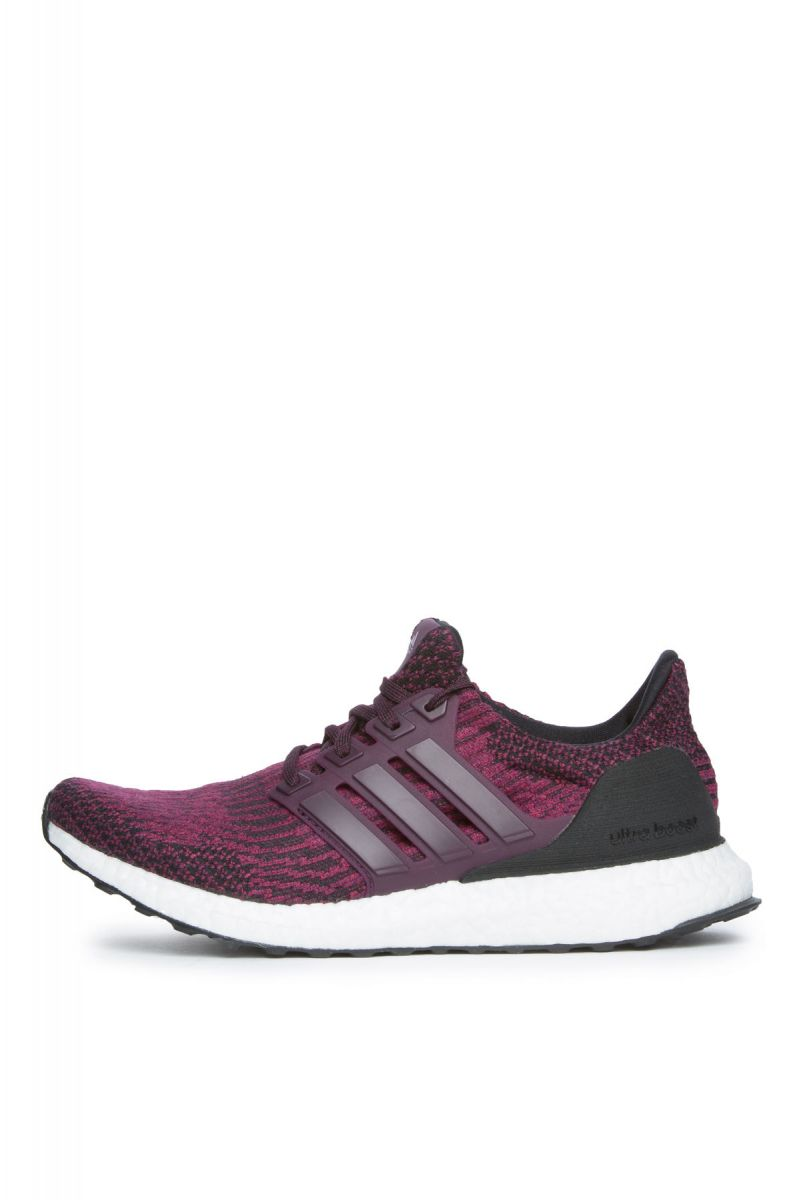 The Women's Ultraboost in Red Night and Core Black