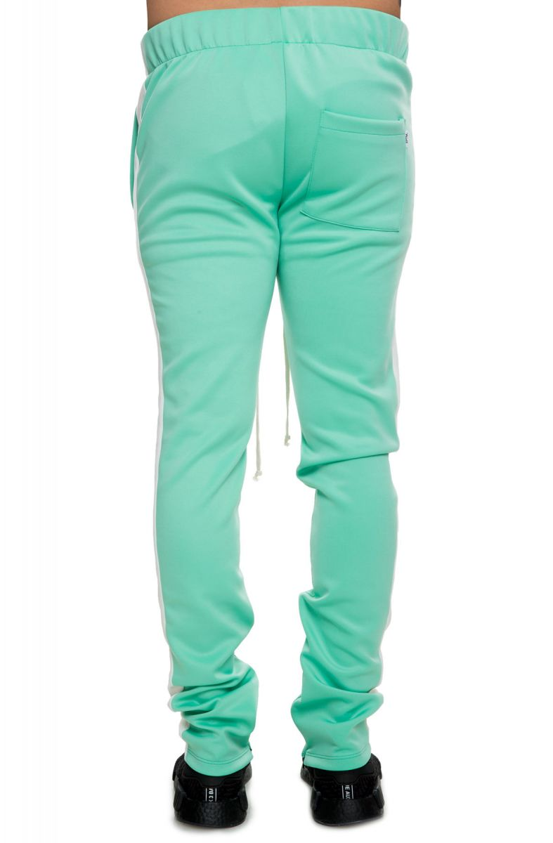 Eptm Track Pants Side Stripe Mint Green