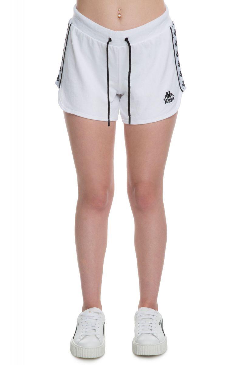 131bf7ef15 Kappa Shorts Women's Authentic Custard White