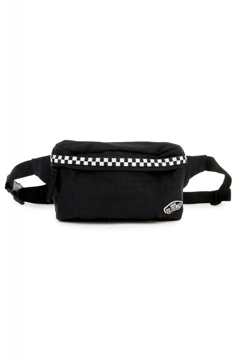 8015fe0fb06 The burma Fanny Pack in Black Mircocheck