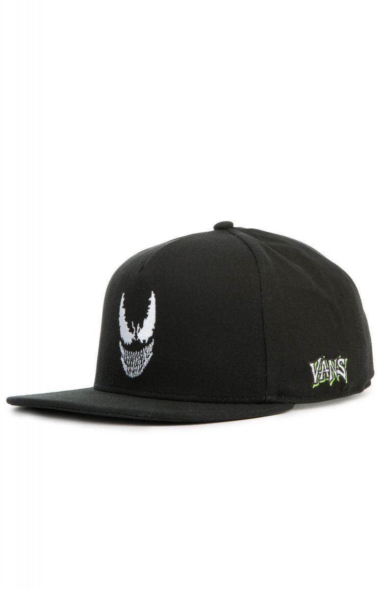 41500f25 Vans x Marvel Venom Snapback Hat Black