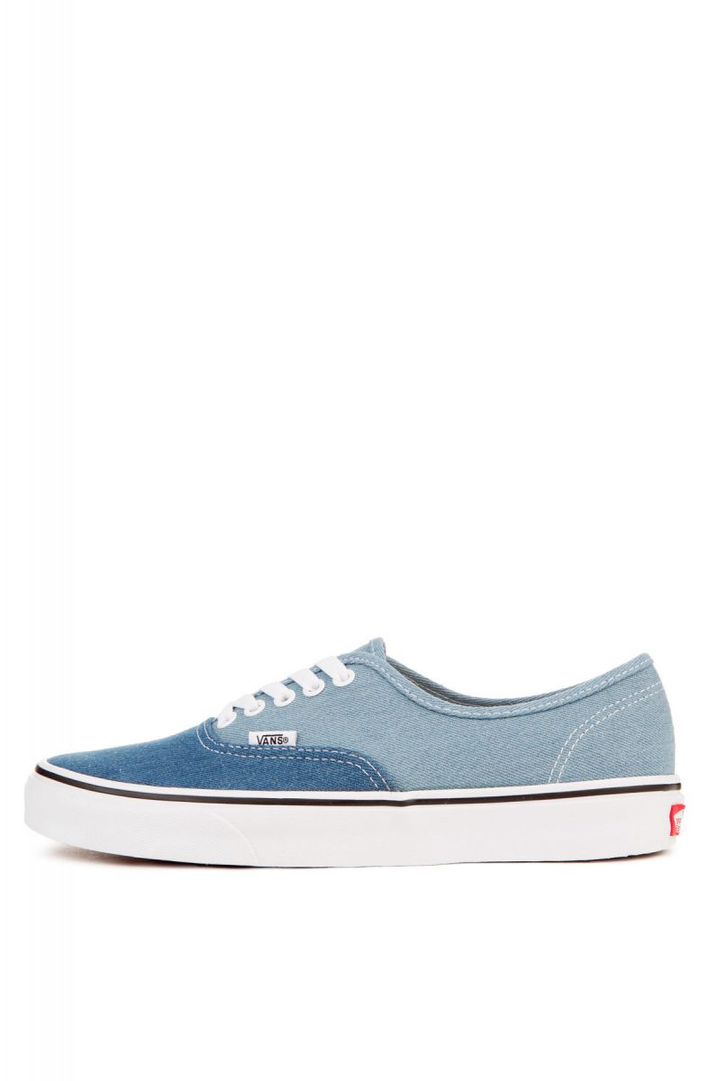 fc9debfa20 Vans Sneaker Men s Authentic 2-Tone Denim Blue
