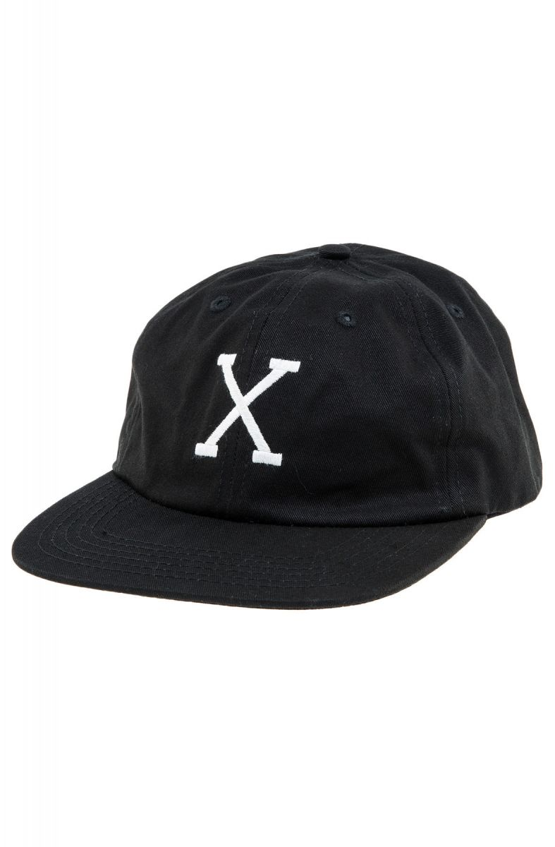 10 Deep Hat Straight Razor Snapback Black b7aa6e58887d