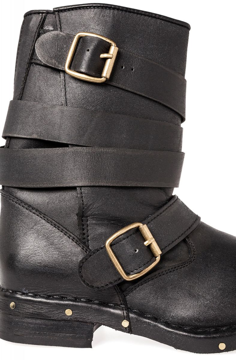Jeffrey Campbell Boot Brit Boot In Distressed Black