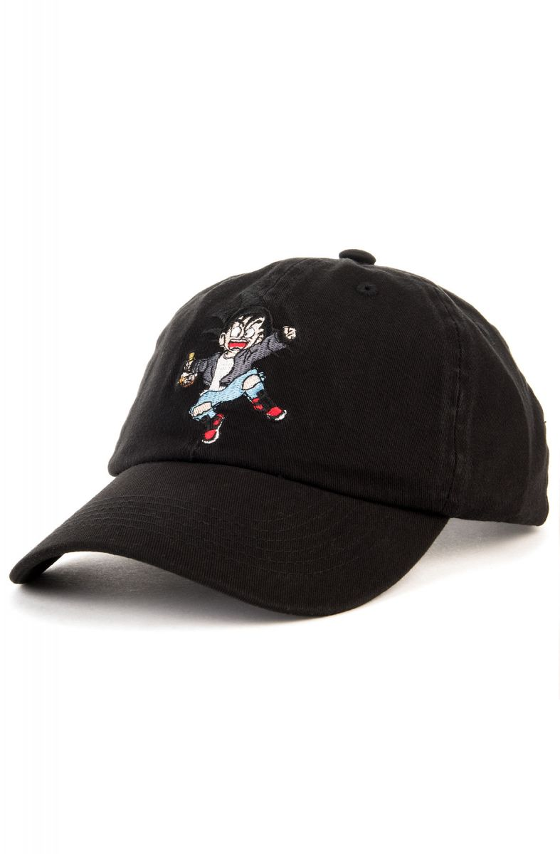 Entree LS Hat Misunderstood Goku Dad Black 04bec4d27b2