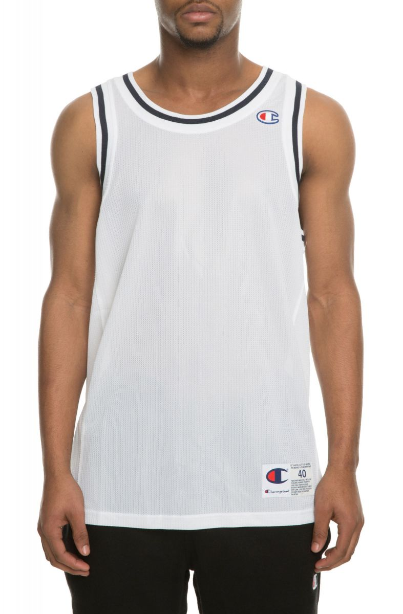 The City Mesh USA Basketball Jersey in White