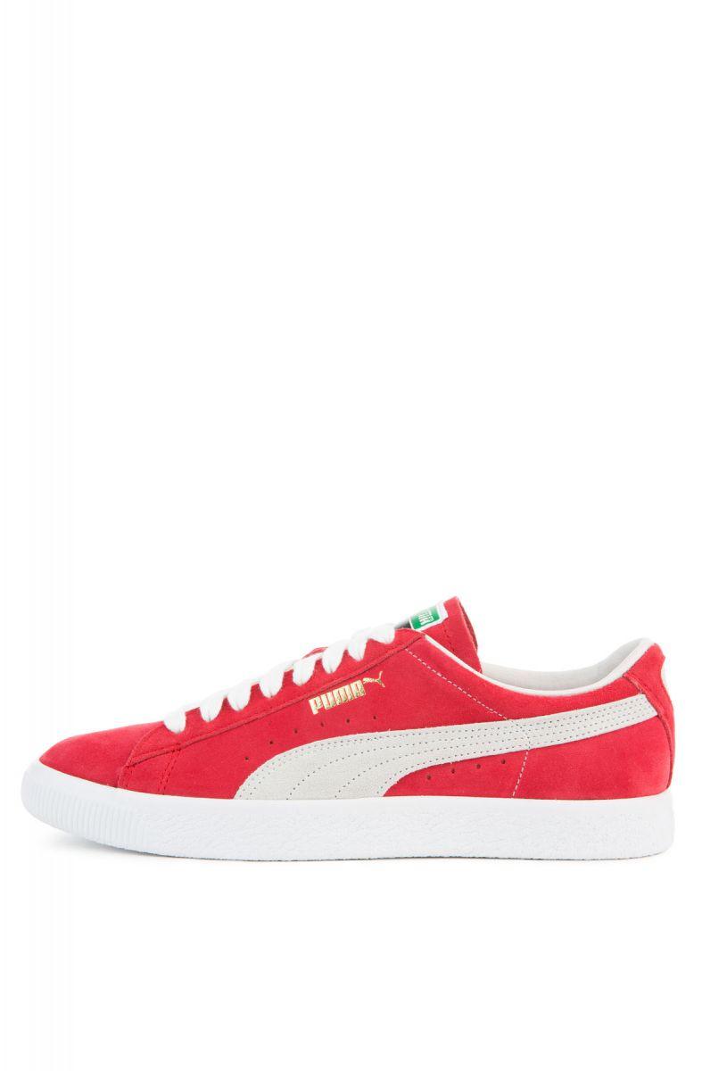 Puma Sneaker Suede 90681 Ribbon Red White ecc3d557c