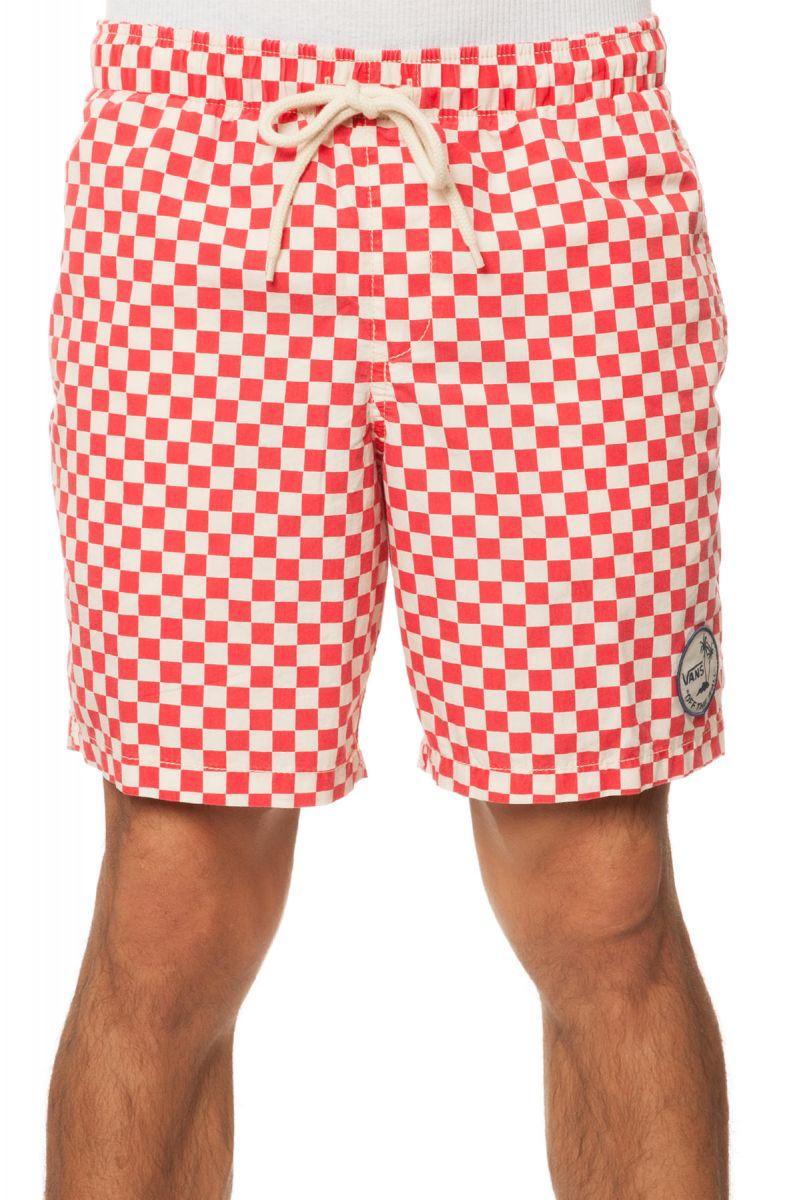 67ba39ab7b Vans Shorts Sloat Surf N Checkerboard Red