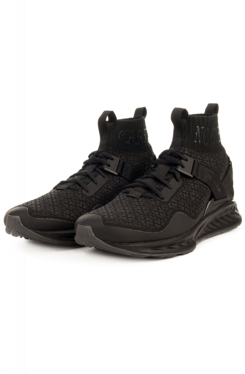 5d2fe9b367d ... The Puma x En Noir IGNITE evoKNIT in Puma Black ...