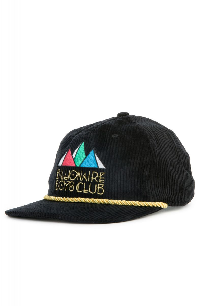 Billionaire Boys Club Hat Pyramids Snapback Black 5df93eba1bc