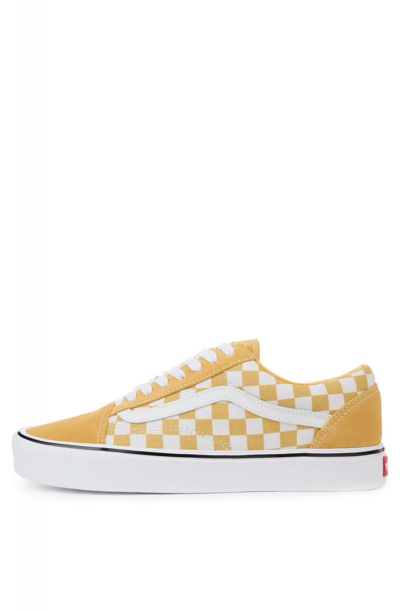 7192106a11f6 The Men s Old Skool Lite in Ochre and True White ...