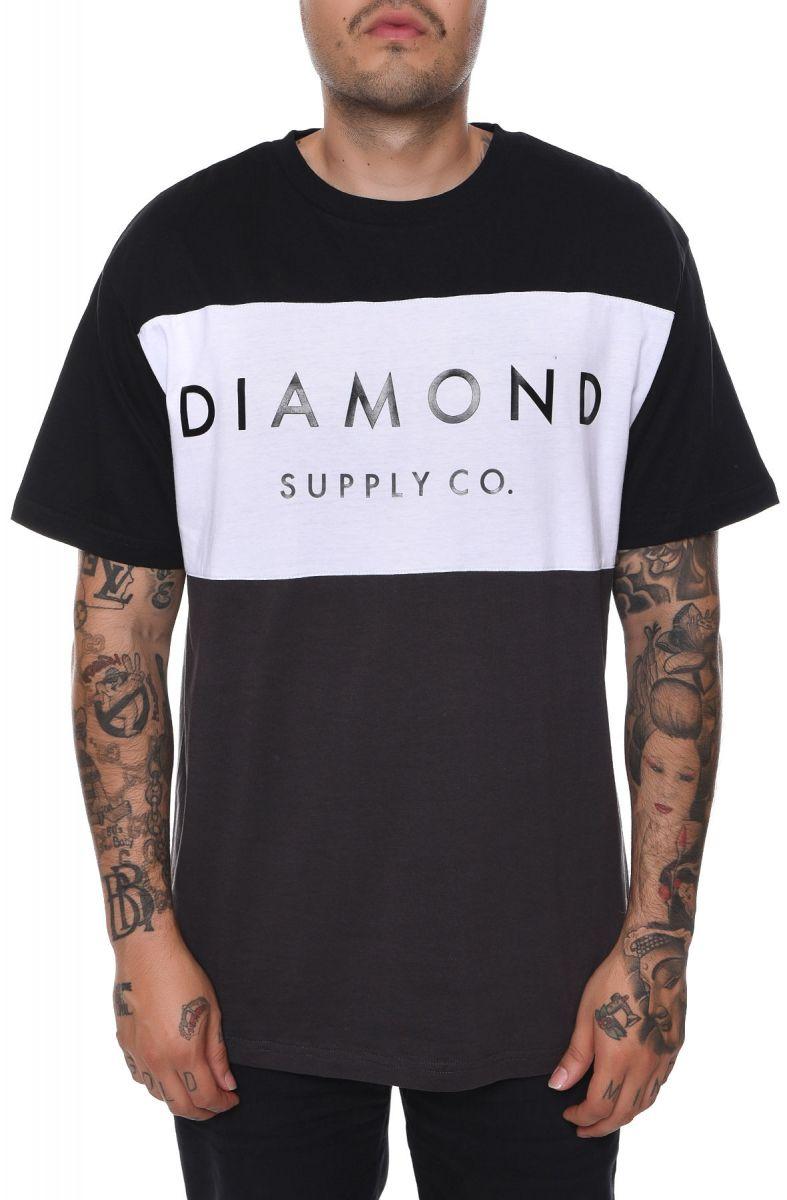 more photos f9391 0f06b Diamond Supply Co. Tee Yacht Black, White,   Charcoal