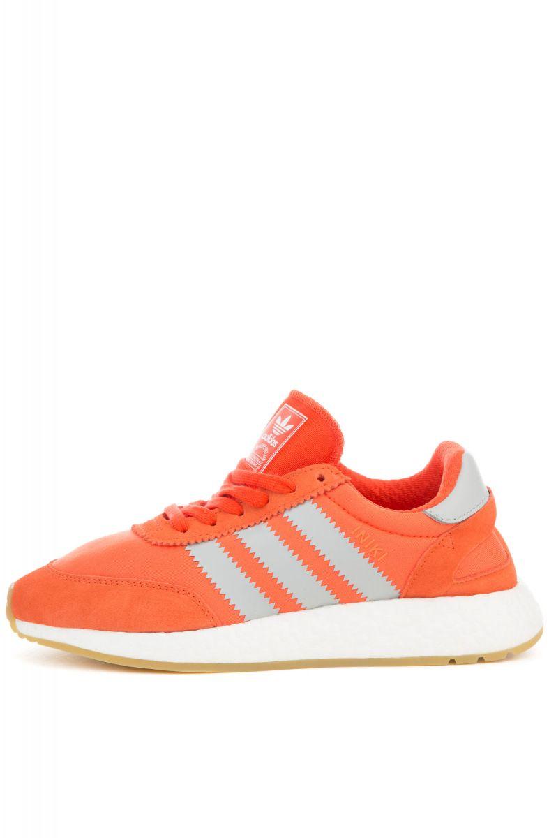 Le donne scarpe adidas iniki runner energia e arancione chiaro onix