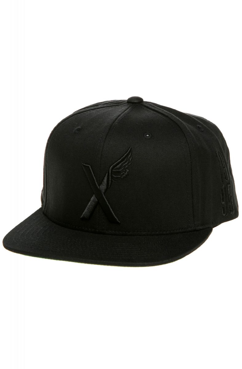 facdccfc09d 10 Deep Hat the X wing Starter Snapback in Black