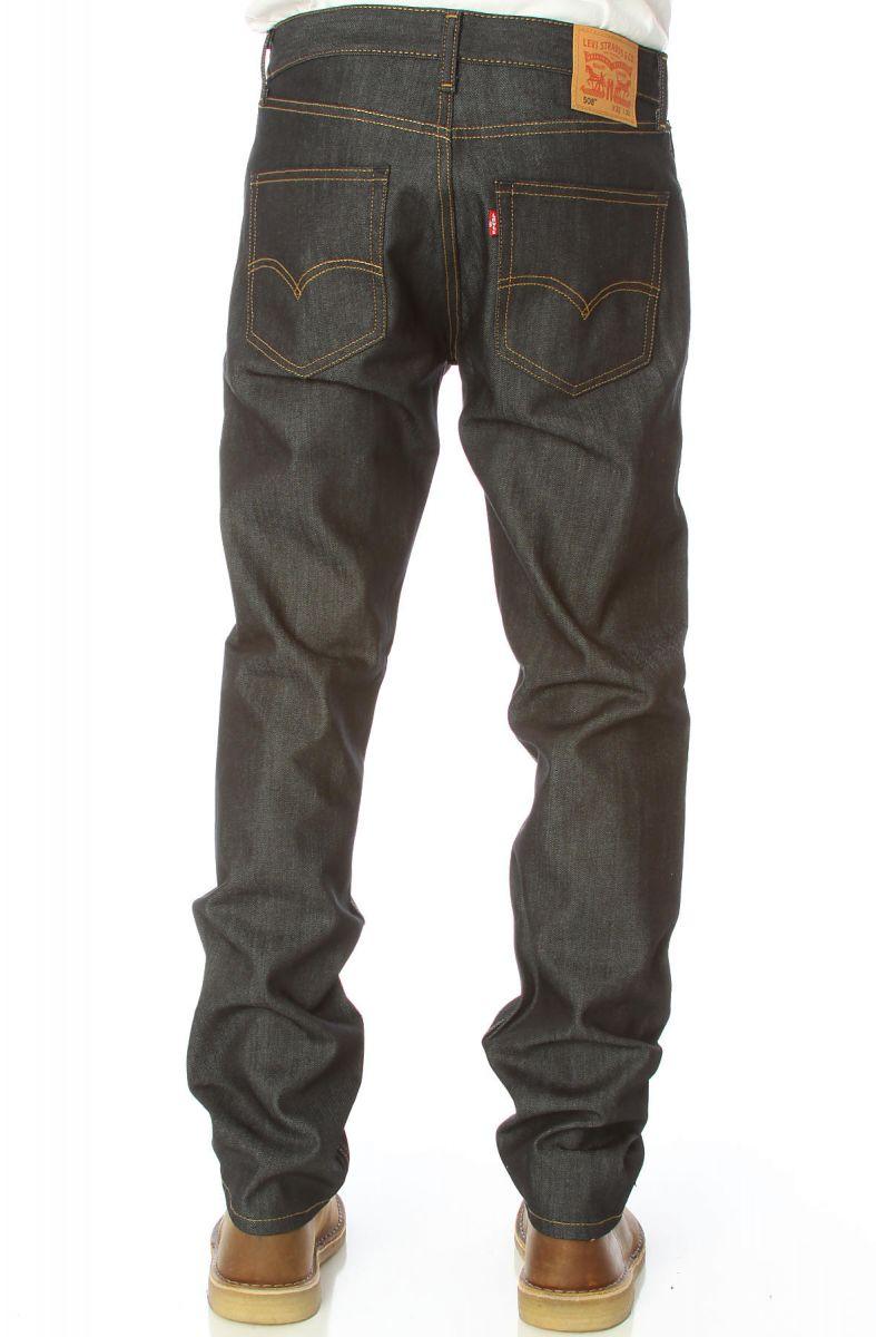 d5a69803e75 Levis Jeans 508 Regular Taper Fit in Rigid Blue