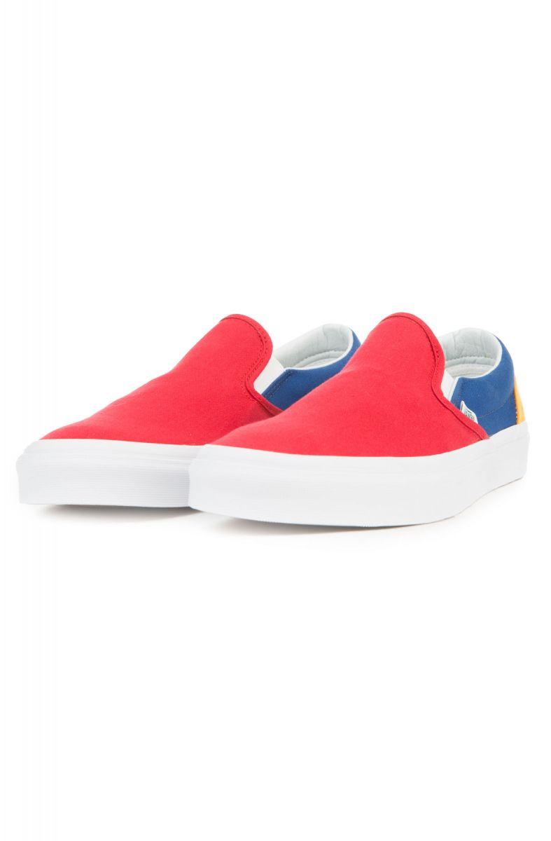 vans yacht club classic slip-on schoenen