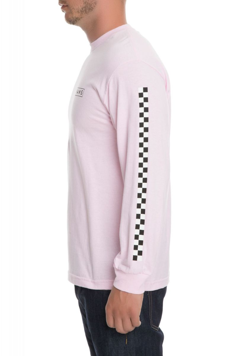 187fad879d7 ... The Checkmate Long Sleeve Tee in Pink ...