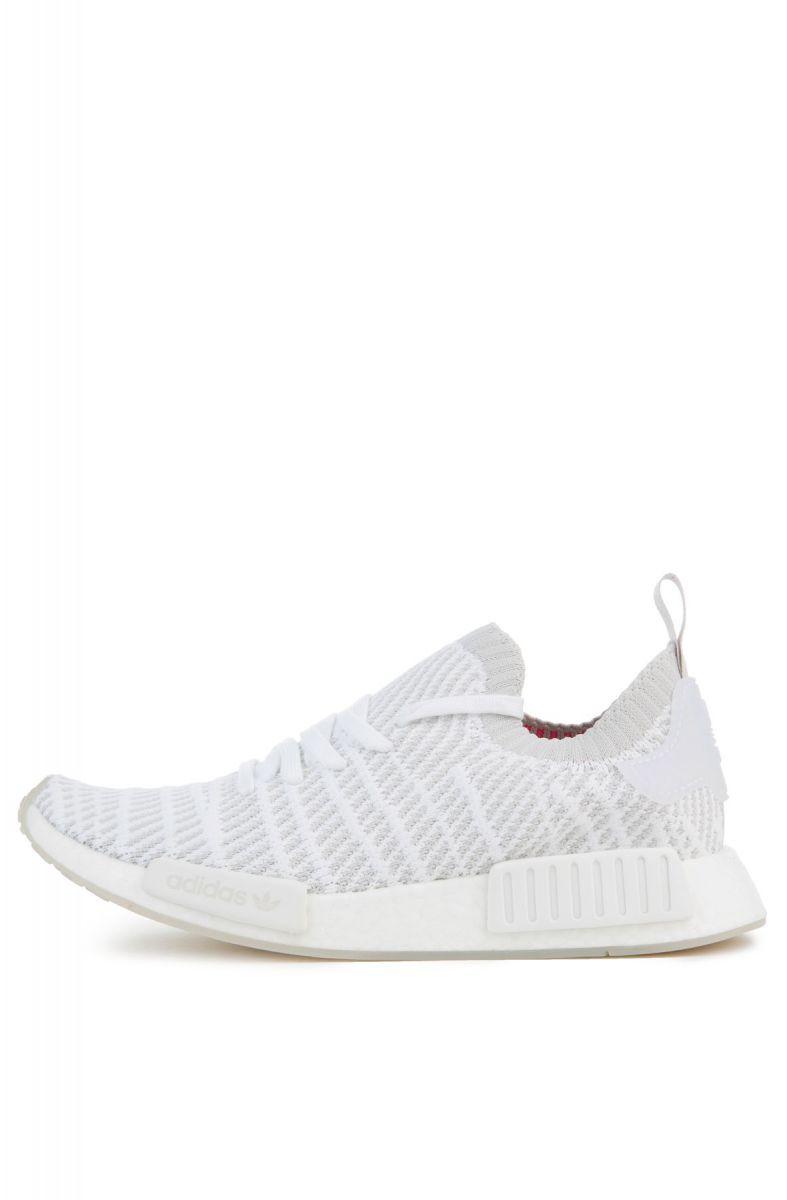 Adidas Sneaker Nmd R1 Stlt Pk White Grey Pink
