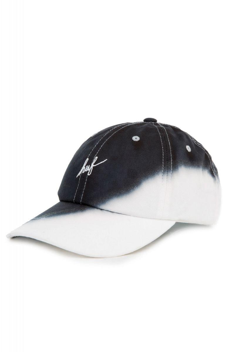 a787d76ccf682 HUF Worldwide Hat Dip Dye 6-Panel Black